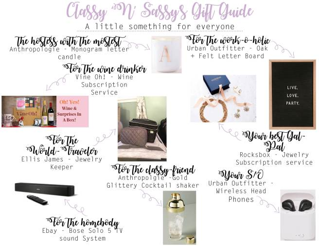 CnS Gift Guide